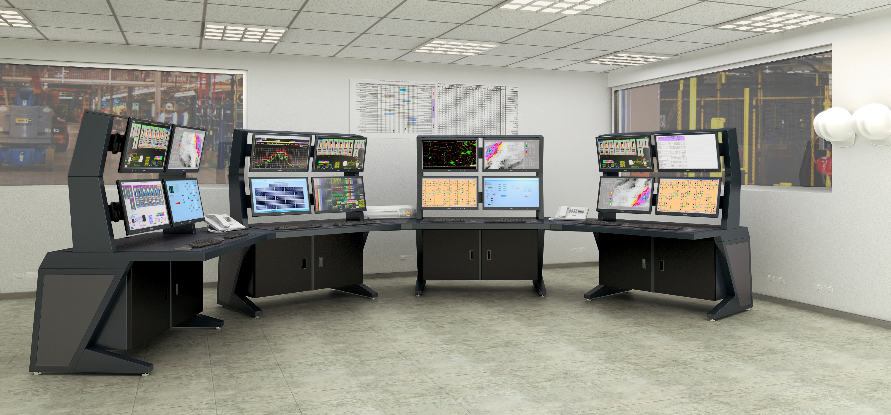 AgileVIEW Series 2 Control Consoles