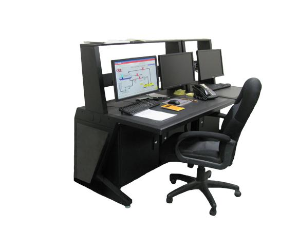 AgileVIEW 1 Tier Industrial Workstation