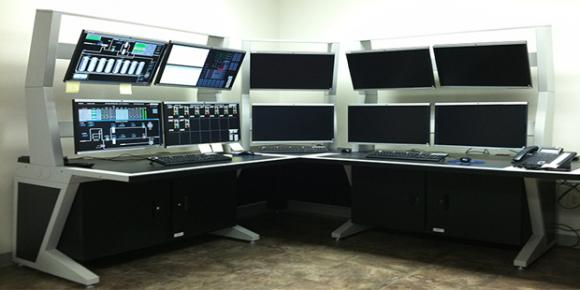 Agileview 174 Control Room Consoles Imagevision Inc