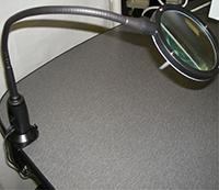 ErgonomicVIEW Task Light Option