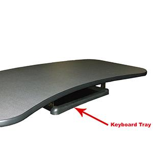 ErgonomicVIEW Keyboard Tray