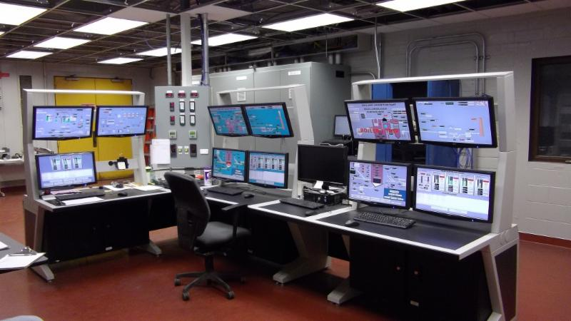 Industrial Control Room Console Agileview Imagevision